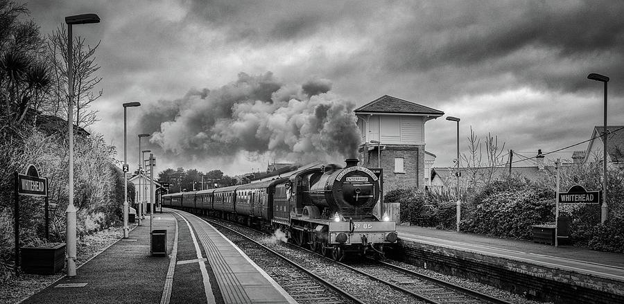 Whitehead Steam Train by Nigel R Bell