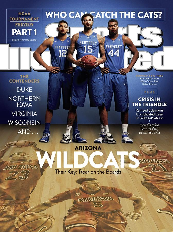 Who Can Catch The Cats Arizona Wildcats, Their Key Roar On Sports Illustrated Cover Photograph by Sports Illustrated