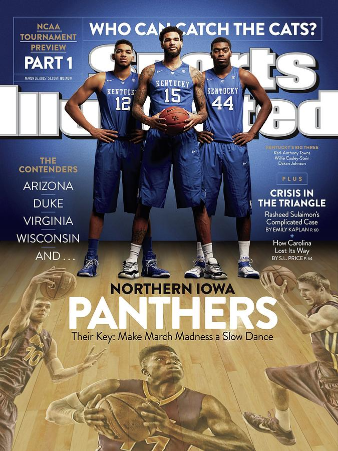 Who Can Catch The Cats Northern Iowa Panthers, Their Key Sports Illustrated Cover Photograph by Sports Illustrated