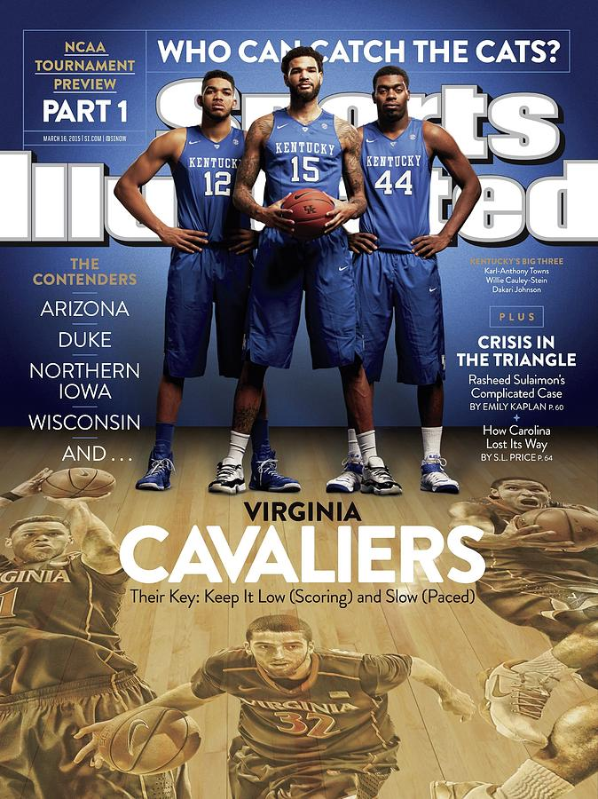 Who Can Catch The Cats Virginia Cavaliers, Their Key Keep Sports Illustrated Cover Photograph by Sports Illustrated