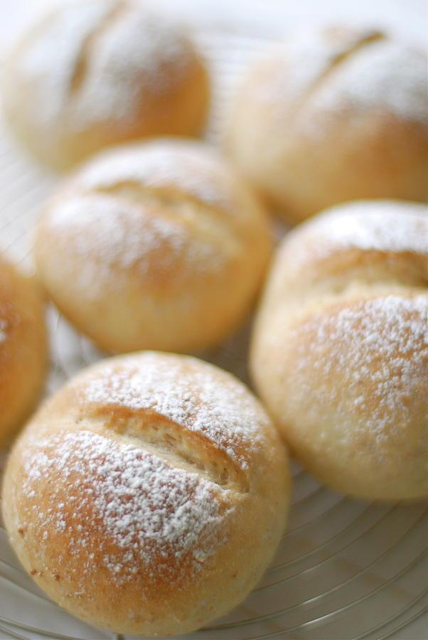 Whole Wheat Flour Bread Photograph by Cocoaloco