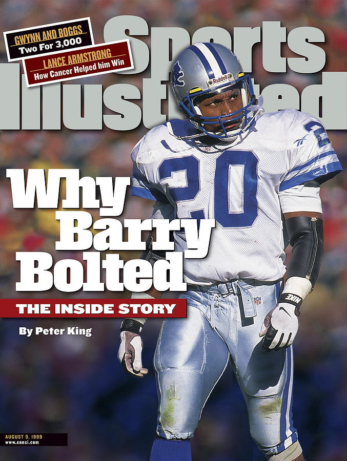 Why Barry Bolted The Inside Story Sports Illustrated Cover Photograph by Sports Illustrated
