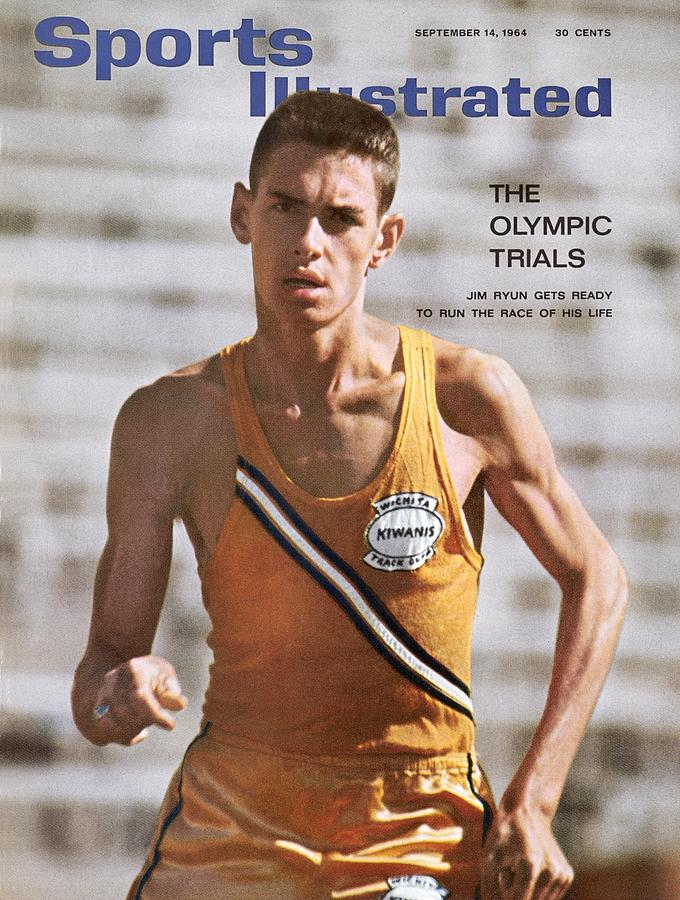 Wichita East High School Jim Ryun Sports Illustrated Cover Photograph by Sports Illustrated