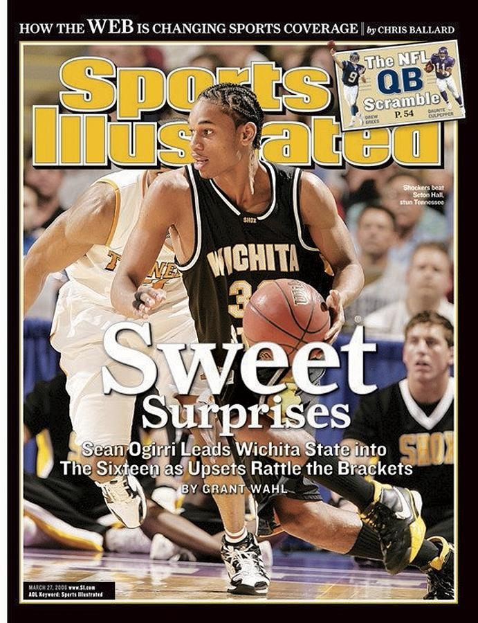 Wichita State Sean Ogirri, 2006 Ncaa Playoffs Sports Illustrated Cover Photograph by Sports Illustrated