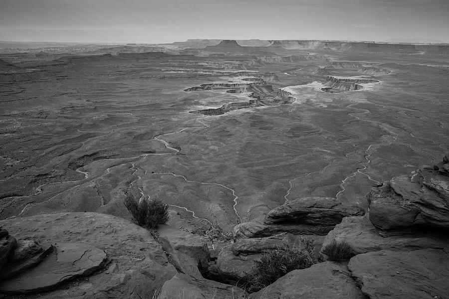 Wide Angle view of Grand Point in Canyonlands National Park by Kyle Lee