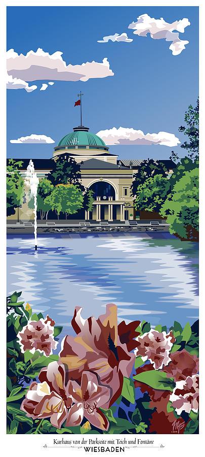 Wiesbaden Kurhaus by Matt Hood