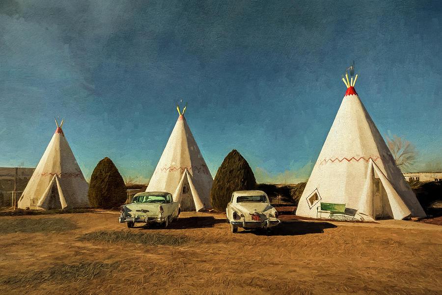 Wigwam Hotel by Lou Novick