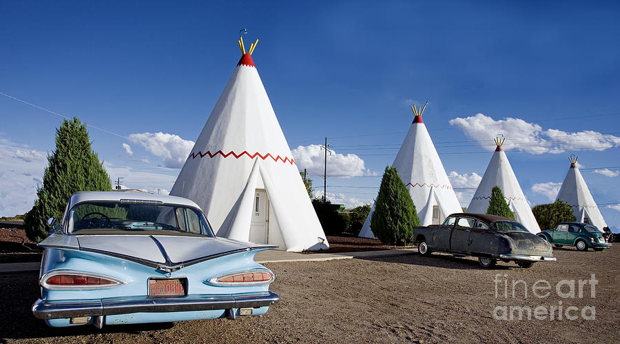 Wigwam Motel, 2006 by Carol Highsmith