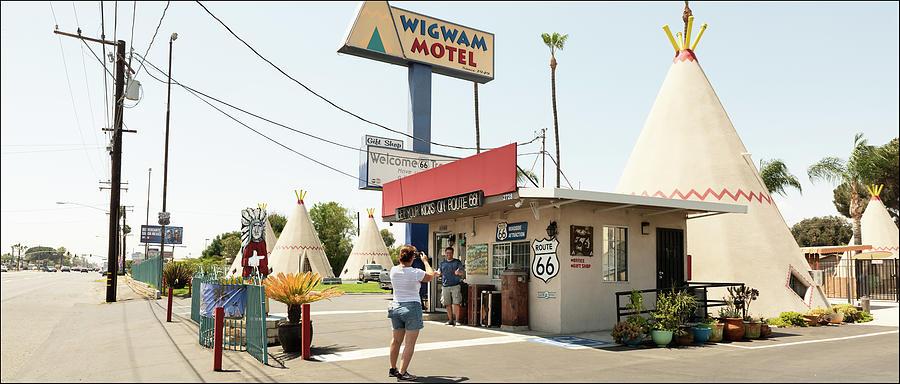 Wigwam Motel, Route 66, Fontana, CA by Andy Romanoff