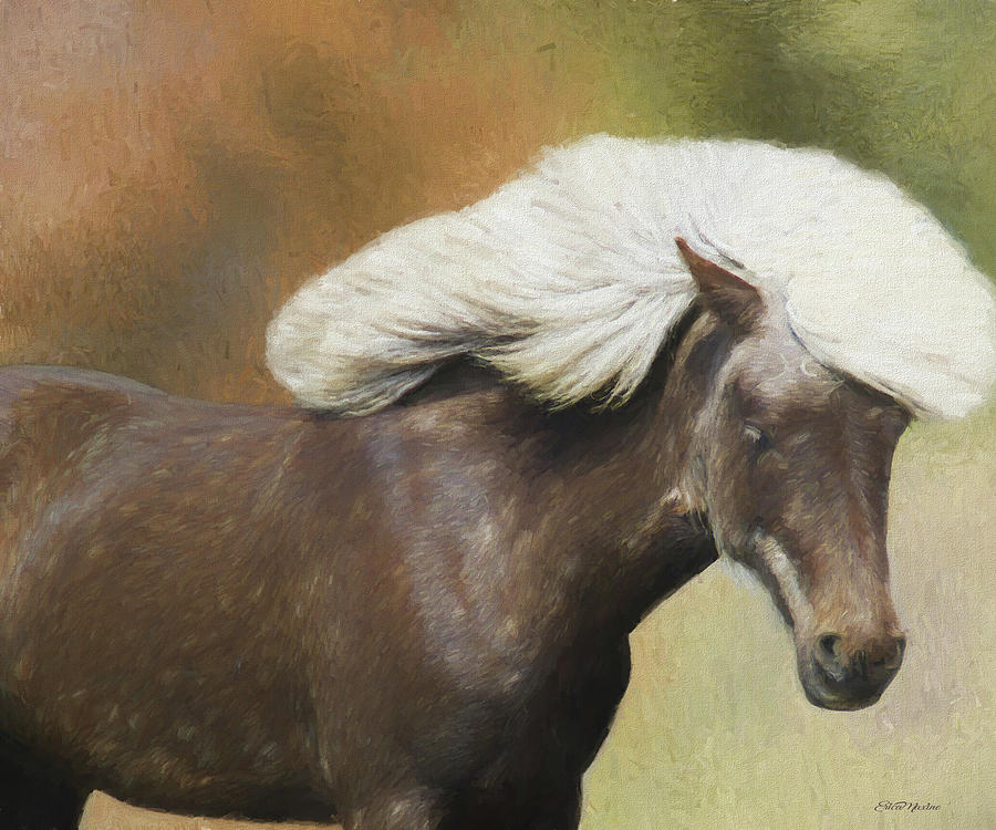 Horse Painting - Wild And Free - Painted by Ericamaxine Price