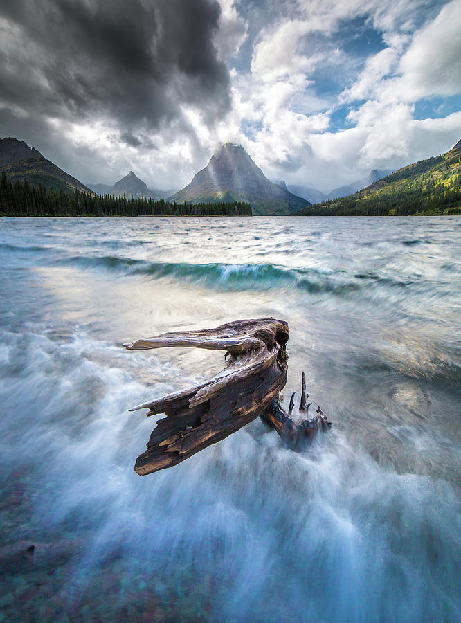 Wild Atmosphere / Two Medicine, Glacier National Park  by Nicholas Parker