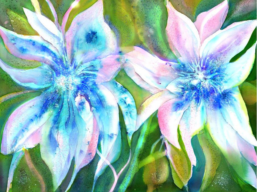 Wild Daylilies  by Sabina Von Arx