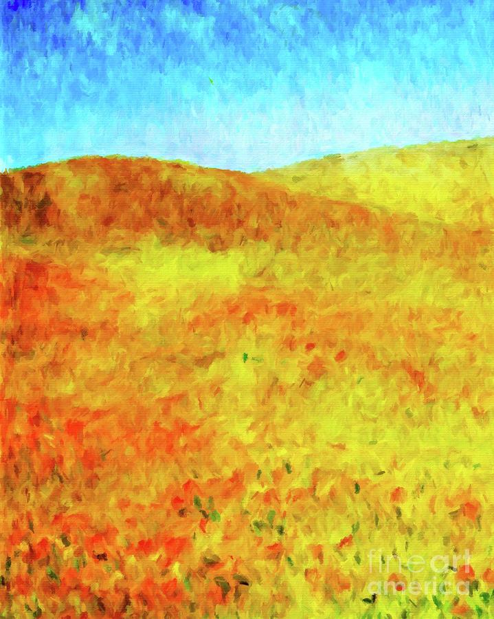 Wildflowers Impression by Jerome Stumphauzer