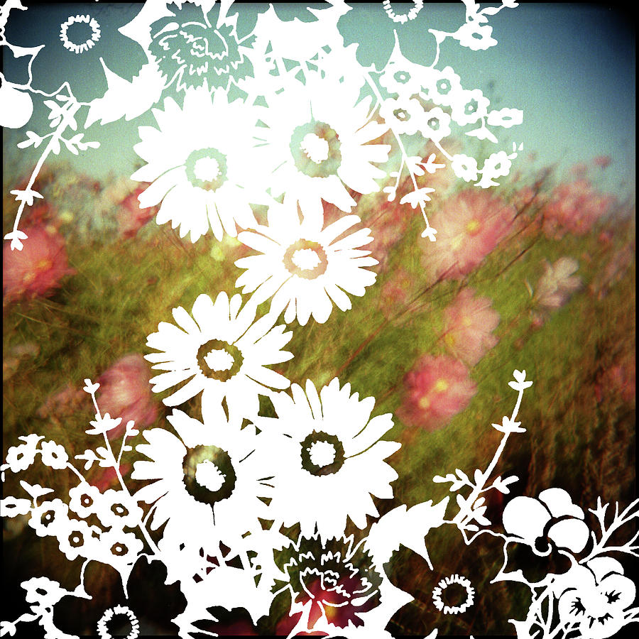 Wild Flowers Digital Art by Jenene Chesbrough