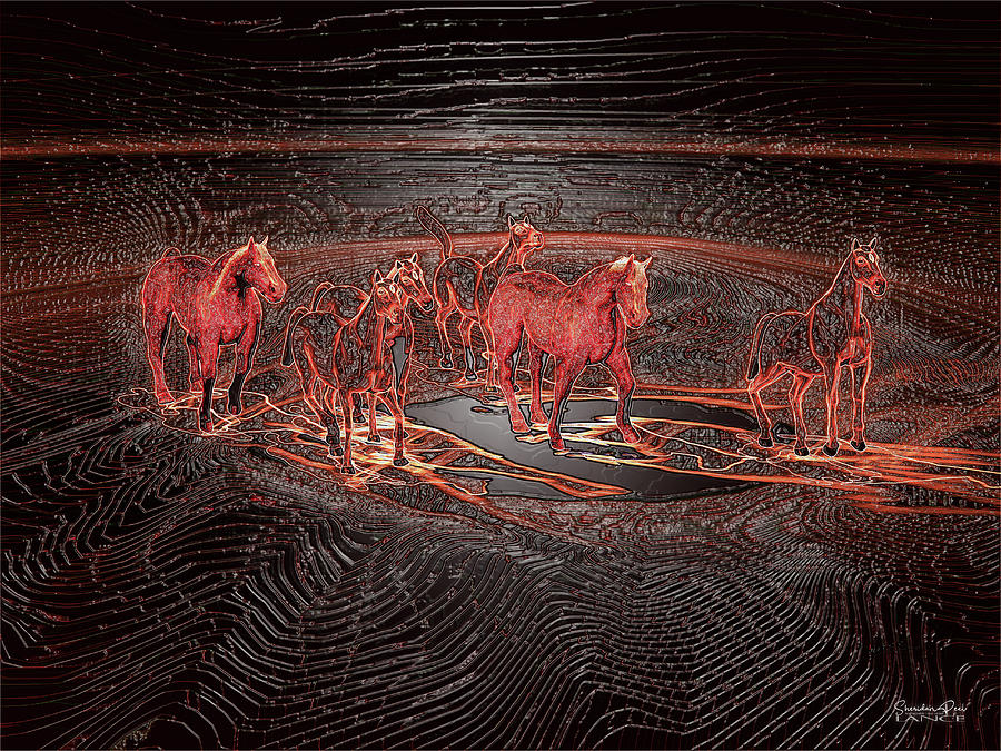 Wild Horses by Lance Sheridan-Peel