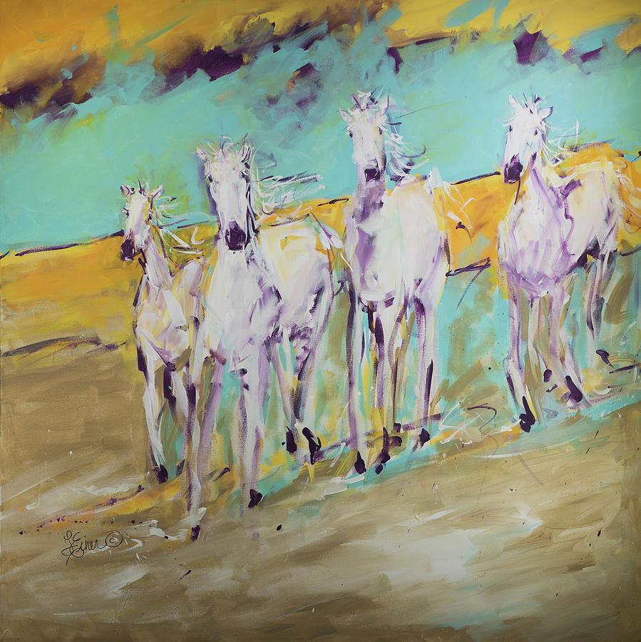 Wild Horses by Terri Einer