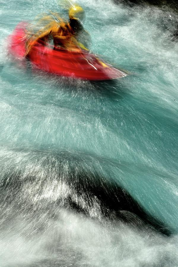 Wild Kayak Ride by Jerry Sodorff