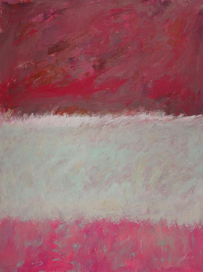 Wild Ocean original painting by Sol Luckman