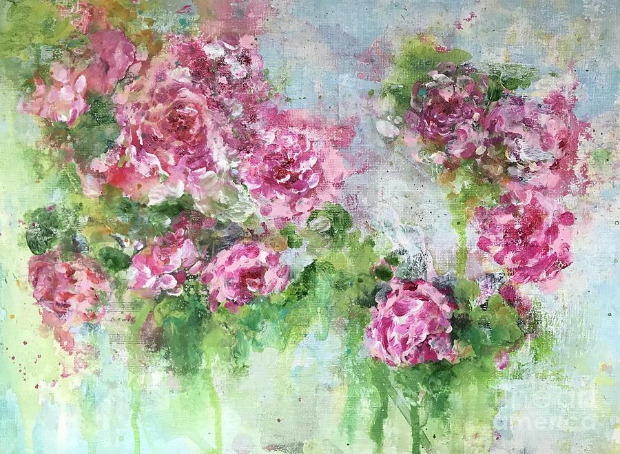 Wild Roses by Diane Fujimoto