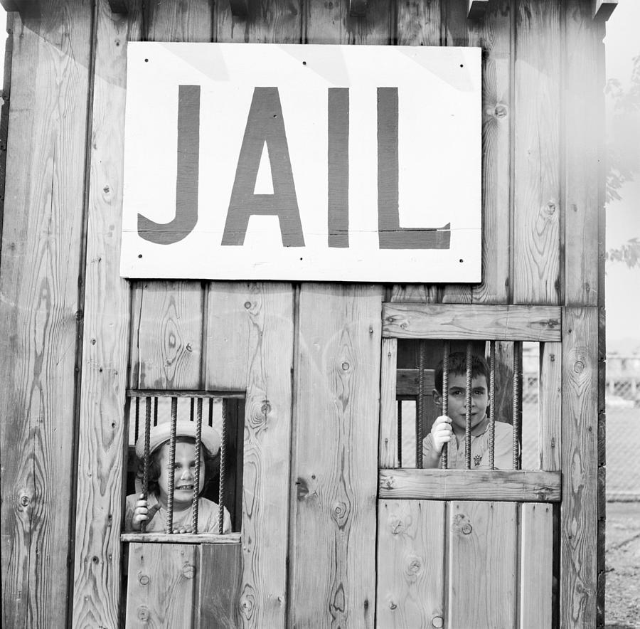 Wild West Jail Photograph by Jacobsen