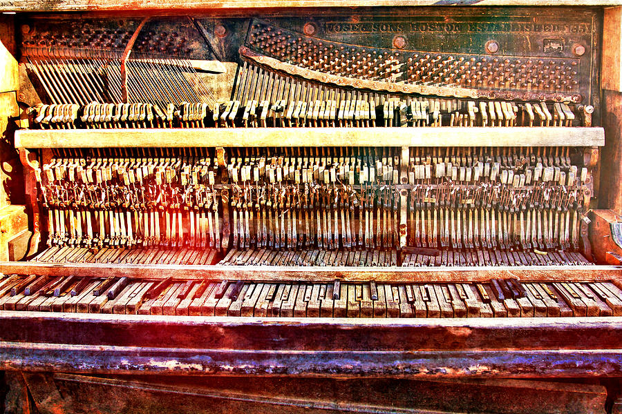 Wild West Piano Relic by Tatiana Travelways