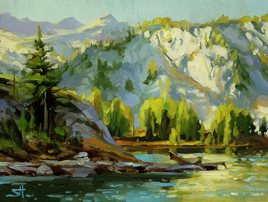 Wilderness Lake by Steve Henderson