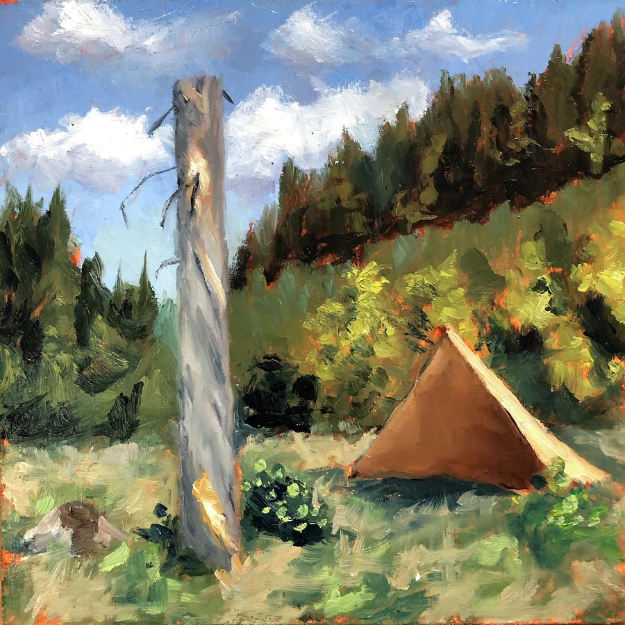 Wilderness Painting Adventure Ep 34 by Ric Nagualero