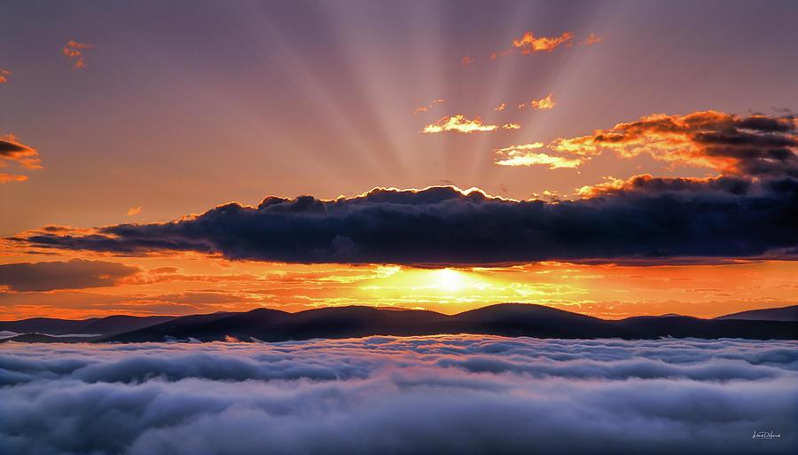 Idaho Photograph - Wilderness Sunrise by Leland D Howard