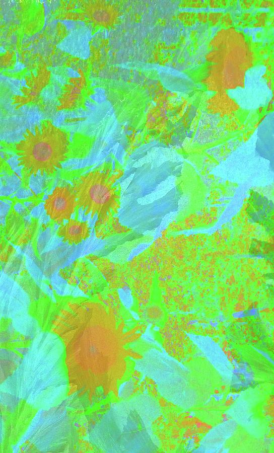 Wildflower Abstract 2 by Mike Breau