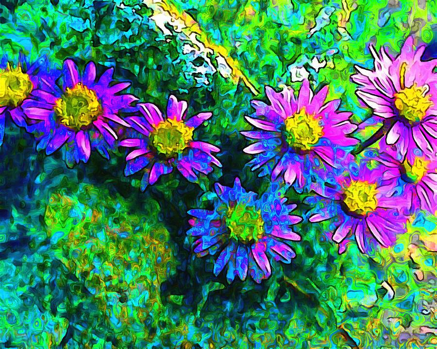 Wildflower Garden by Mario Carini