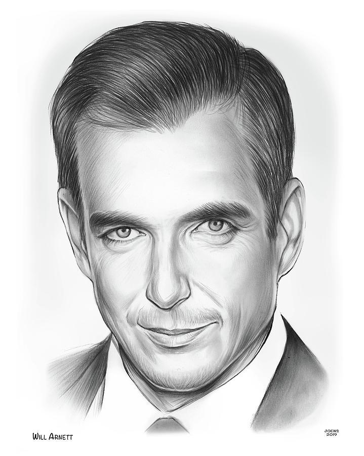 Will Arnett Drawing