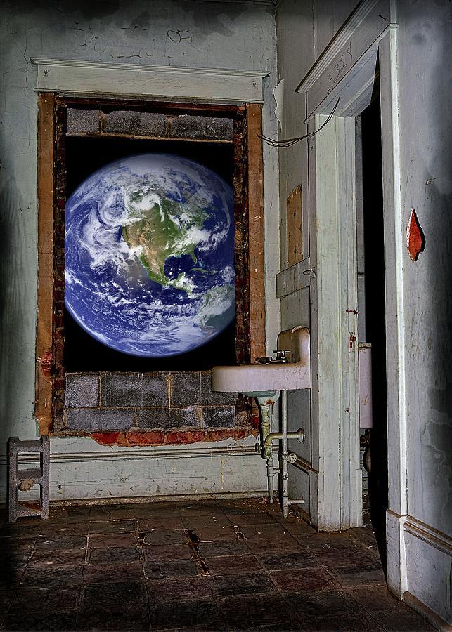 Will Earth Be Forgotten Digital Art