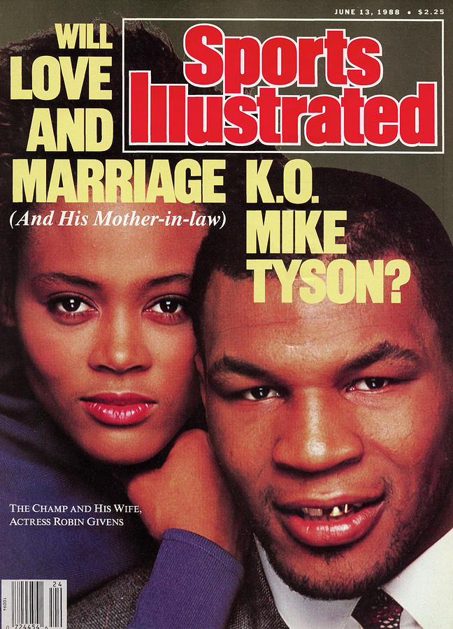 Will Love And Marriage K.o. Mike Tyson Sports Illustrated Cover Photograph by Sports Illustrated