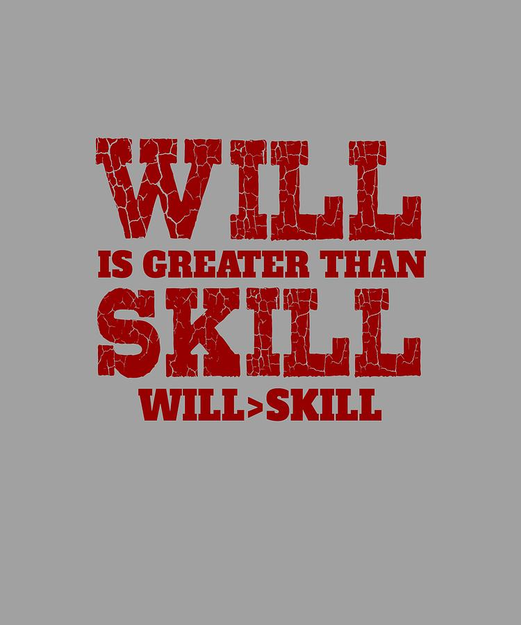 Will Skill Digital Art by Shopzify