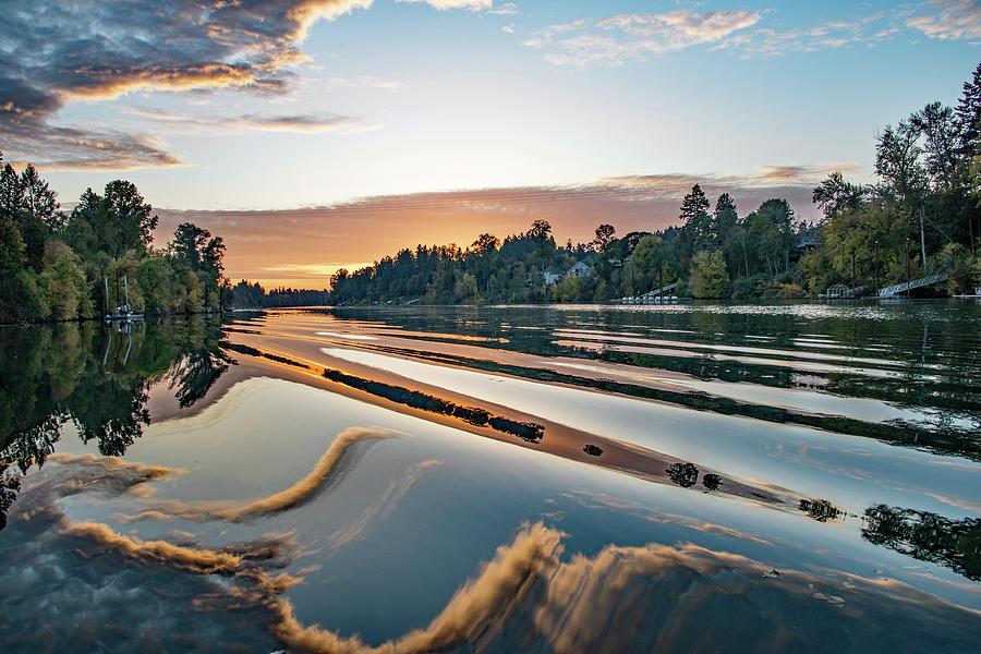 Willamette at Sunset by Kent Sorensen