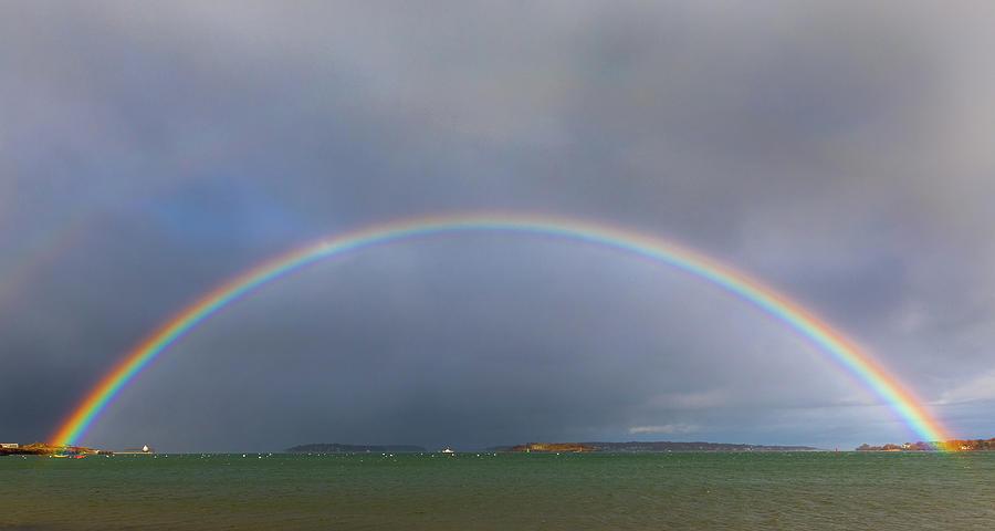 Willard Beach Rainbow by Colin Chase