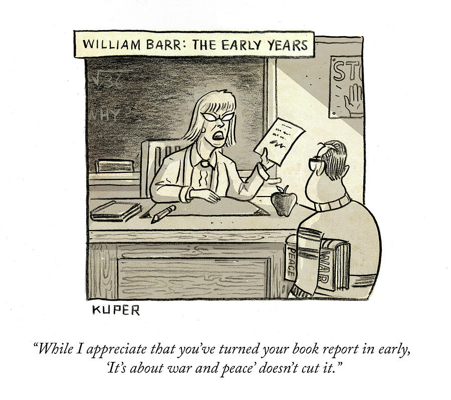 William Barr The Early Years Drawing by Peter Kuper
