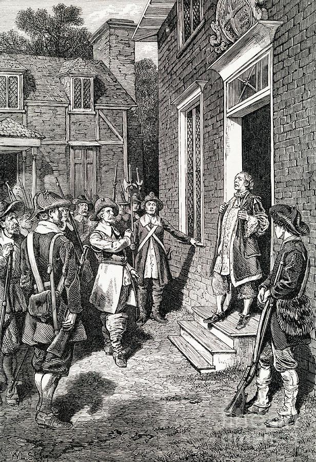 William Berkeley Addressing Rebels Photograph by Bettmann