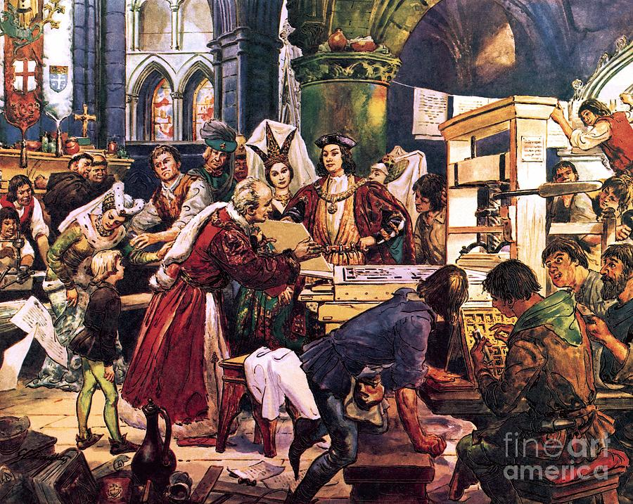 William Caxton  Englands First Printer by Cl Doughty