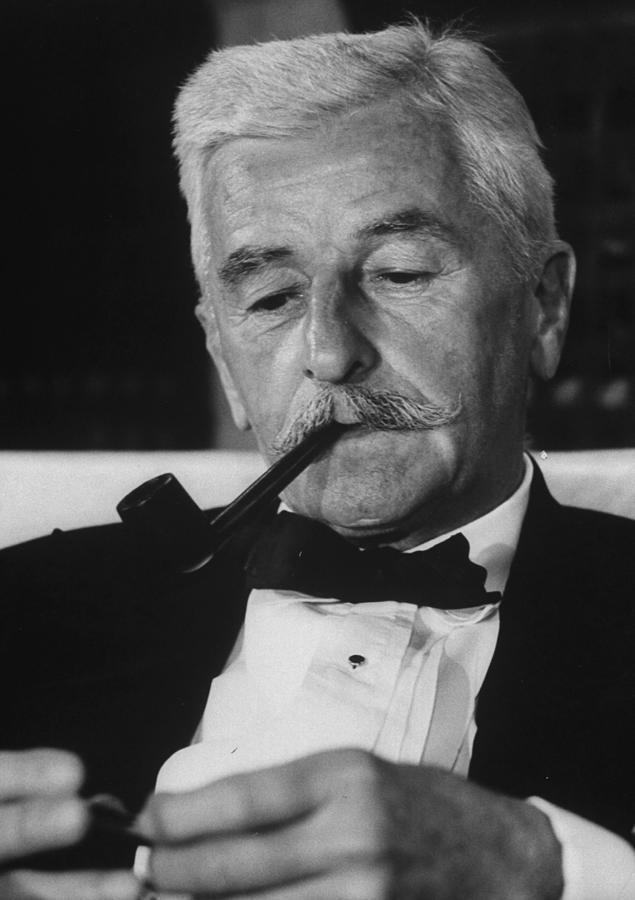 William Faulkner Photograph by Carl Mydans