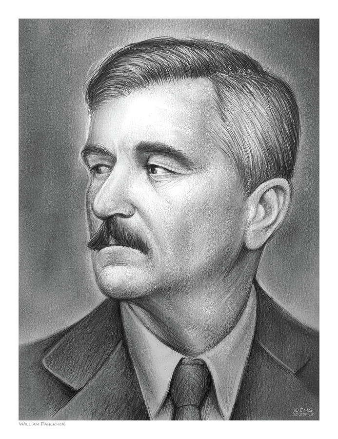 William Faulkner Drawing