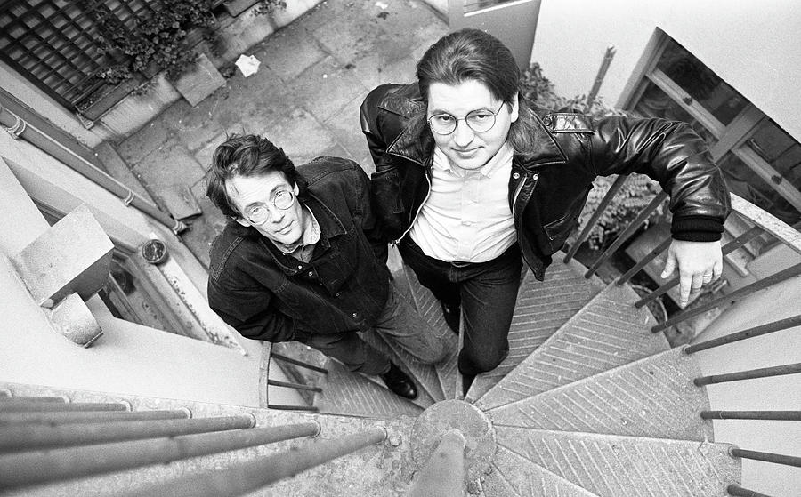 William Gibson And Bruce Sterling Photograph by Martyn Goodacre