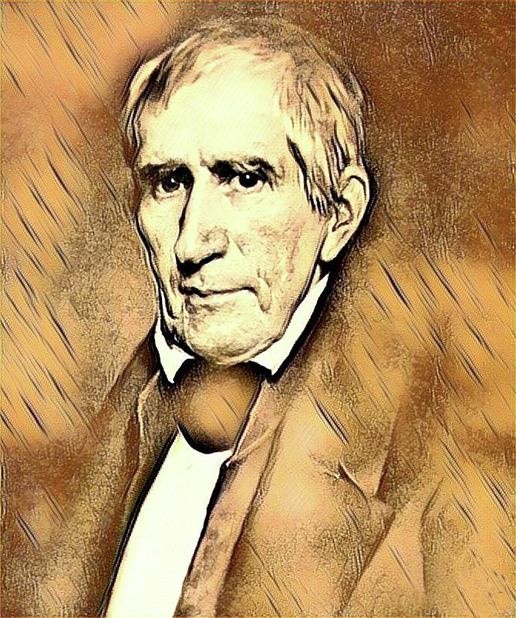 William Henry Harrison Mixed Media