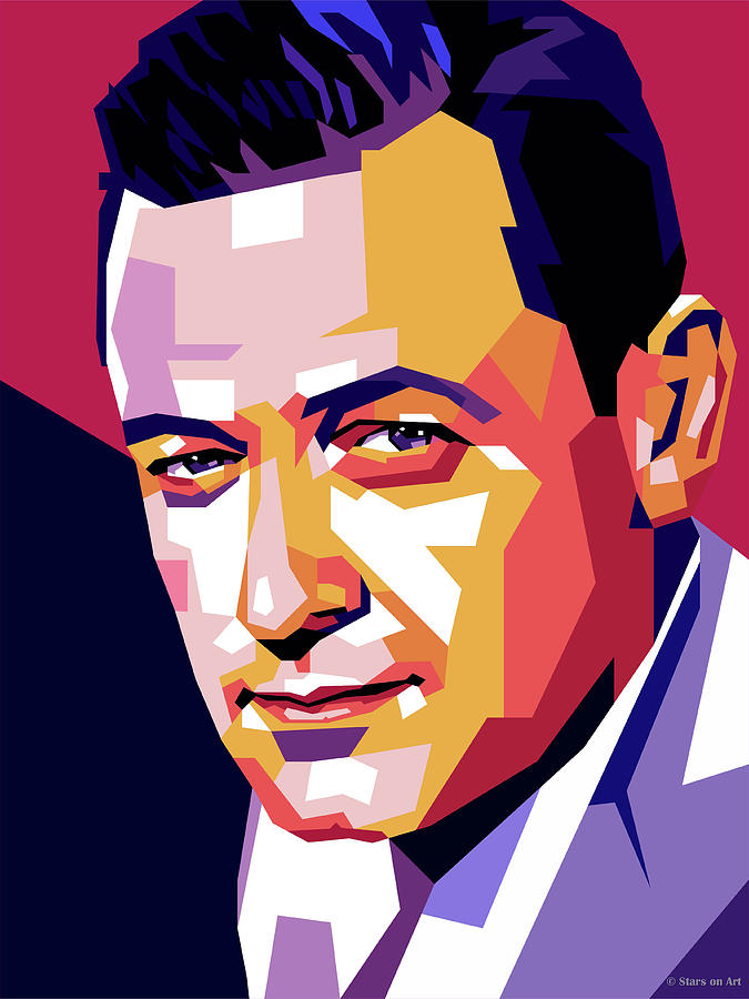William Holden by Stars on Art