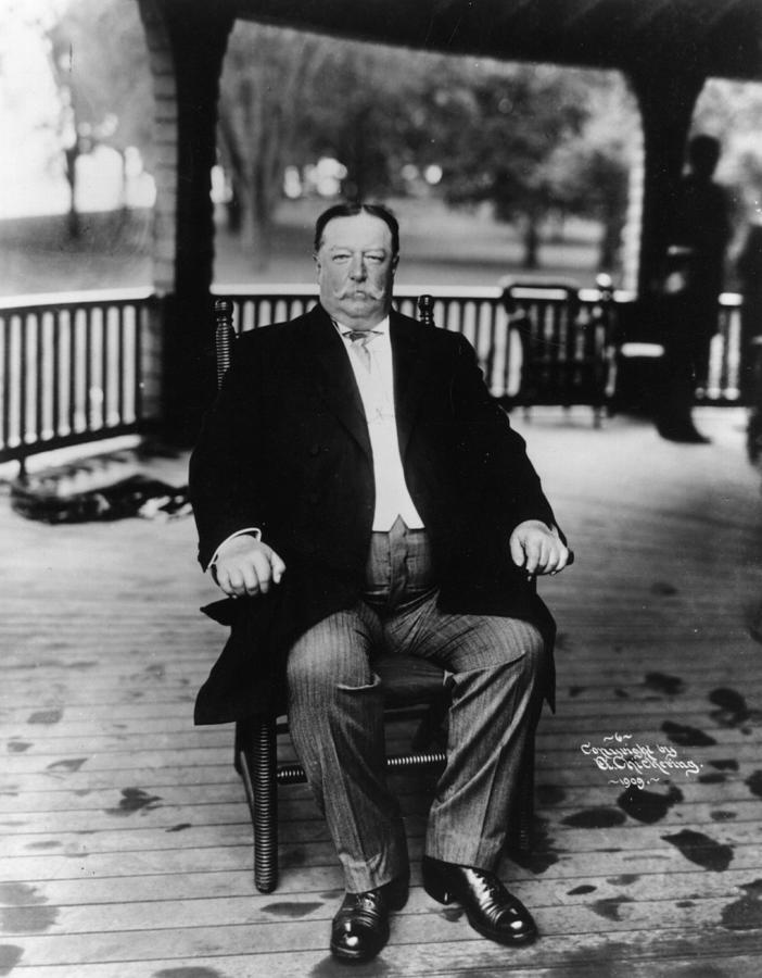 William Howard Taft Photograph by Hulton Archive