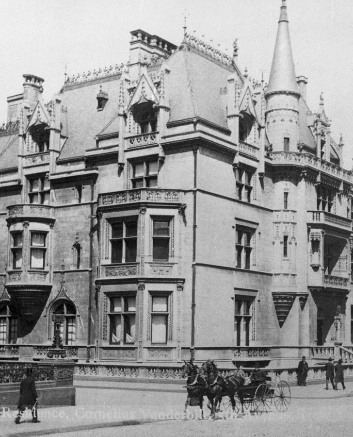 William K. Vanderbilt House Photograph by Archive Photos