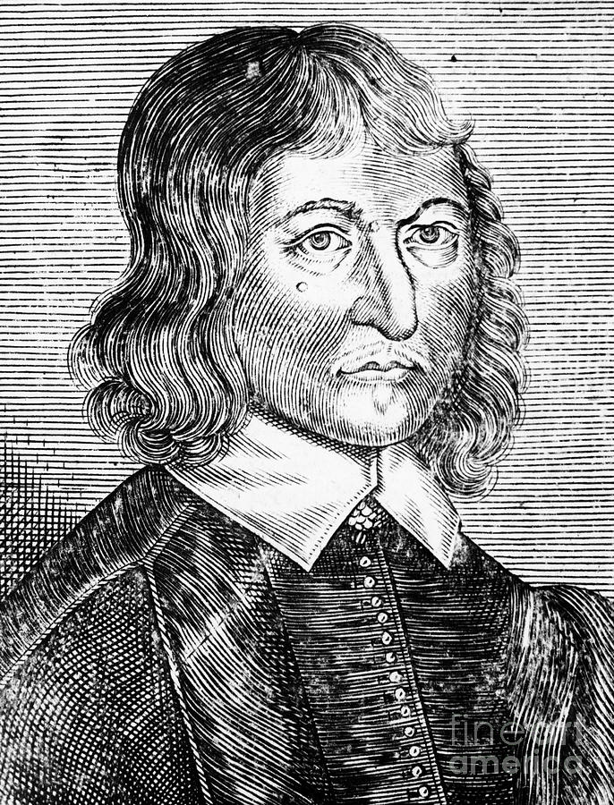 William Lilly 1602-1681, English Drawing by Print Collector