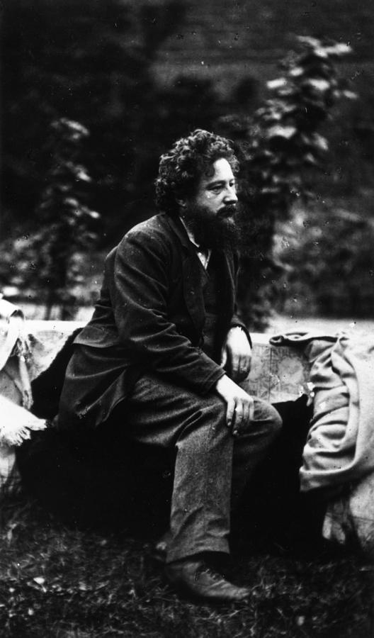 William Morris Photograph by Frederick Hollyer