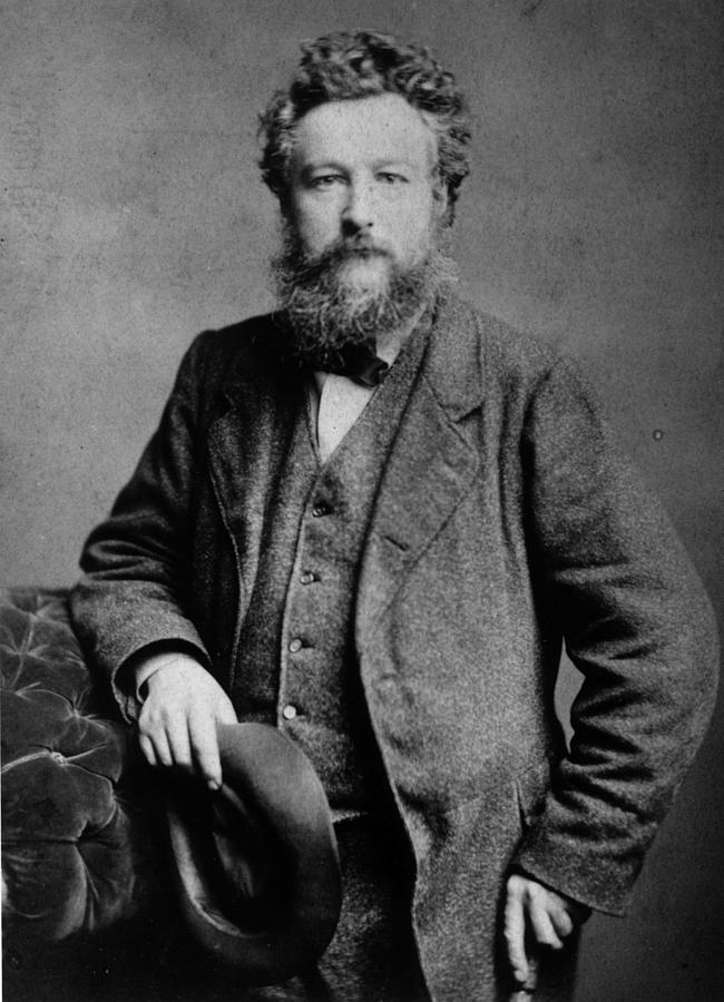 William Morris Photograph by London Stereoscopic Company