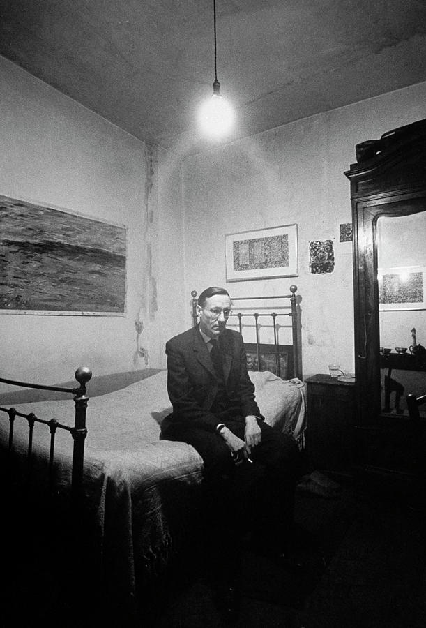 William S. Burroughs Photograph by Loomis Dean